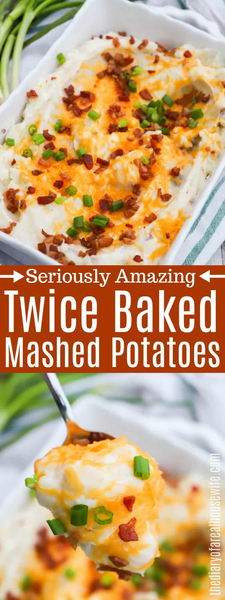Twice Baked Mashed Potatoes