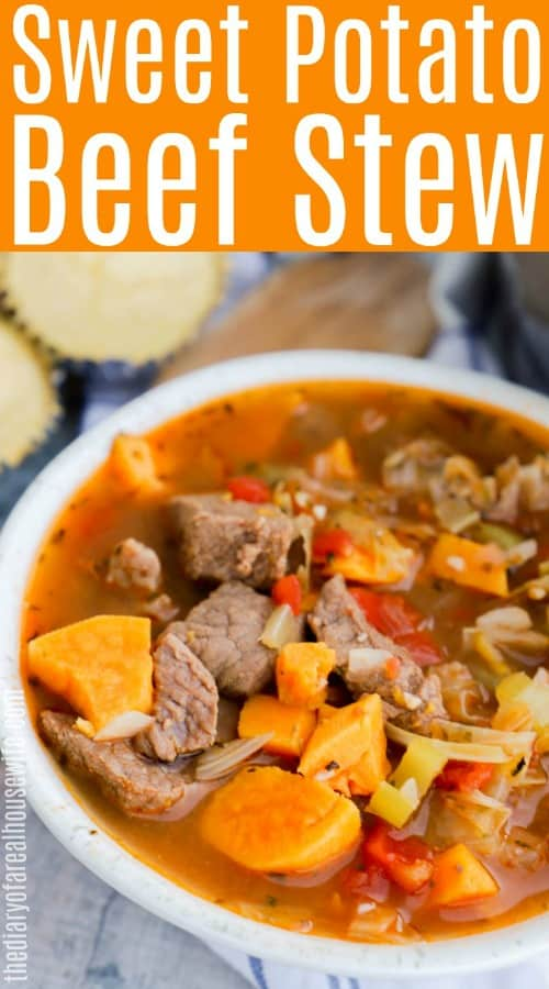 Sweet Potato Beef Stew