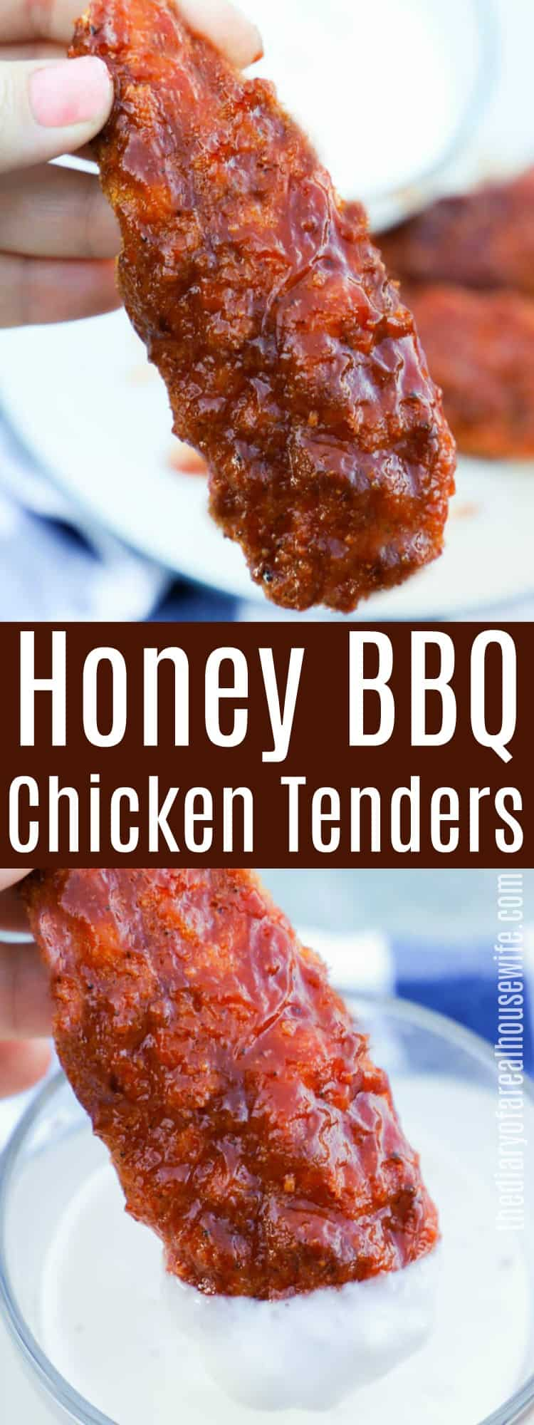 Honey BBQ Chicken Tenders