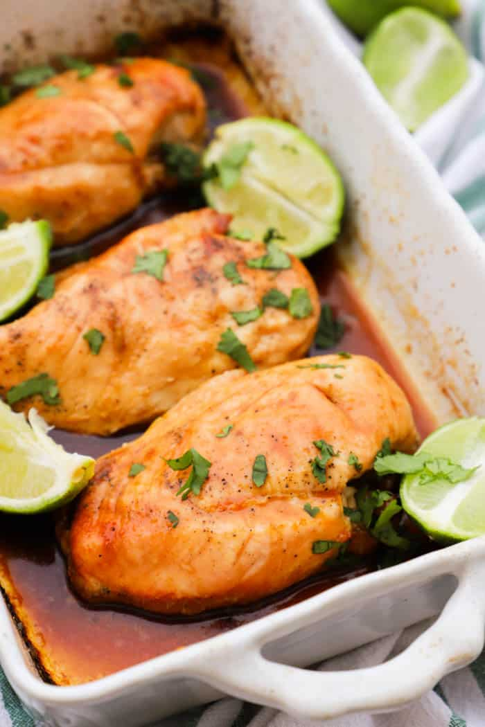 Honey Lime Chicken Breast