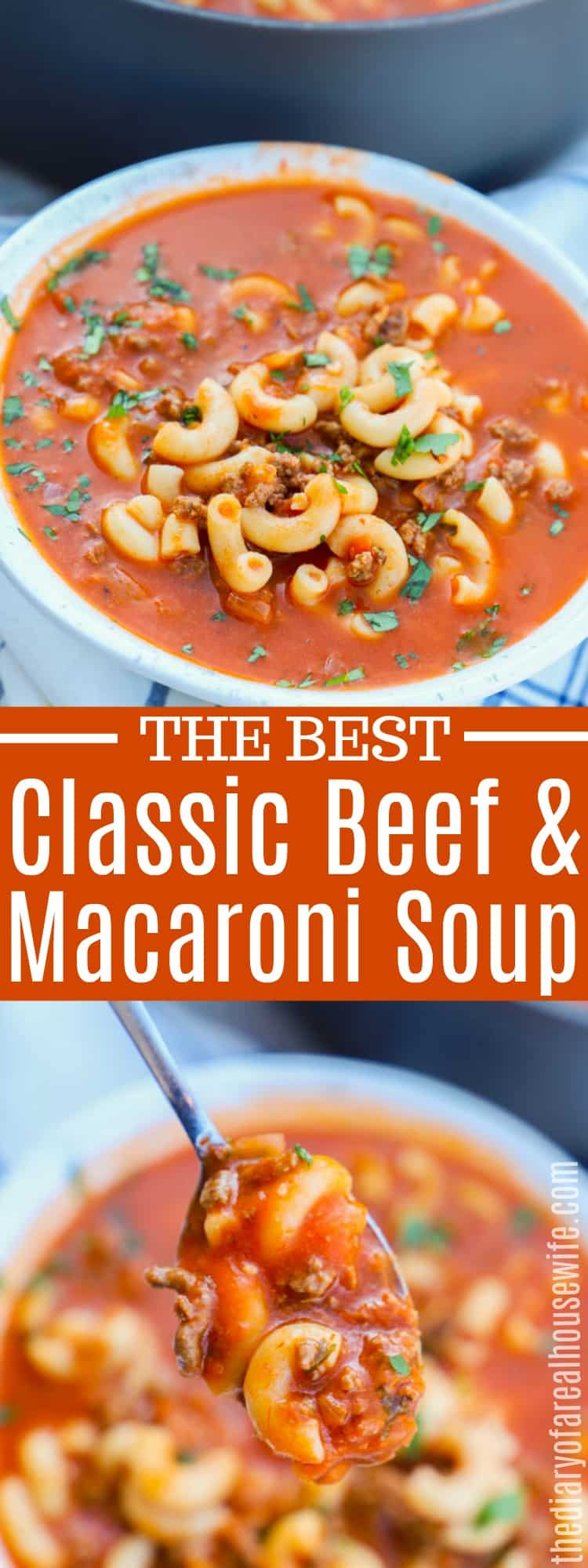 Beef and Macaroni Soup