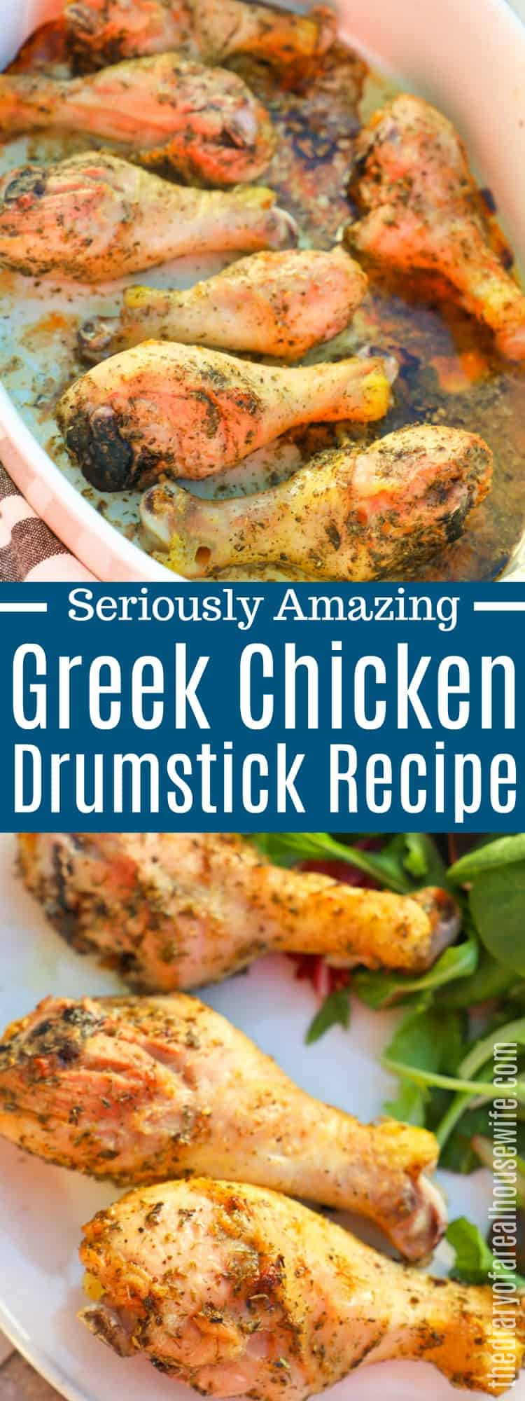 Greek Chicken Drumsticks