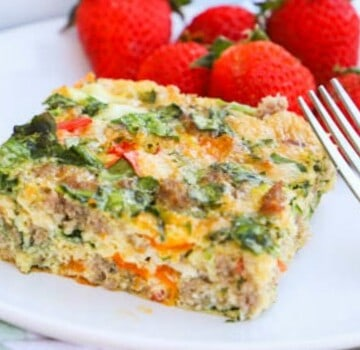 Make Ahead Low Carb Breakfast Casserole