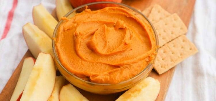 Peanut Butter Pumpkin Pie Dip