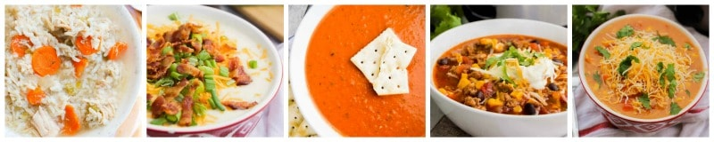soup recipes made in the slow cooker