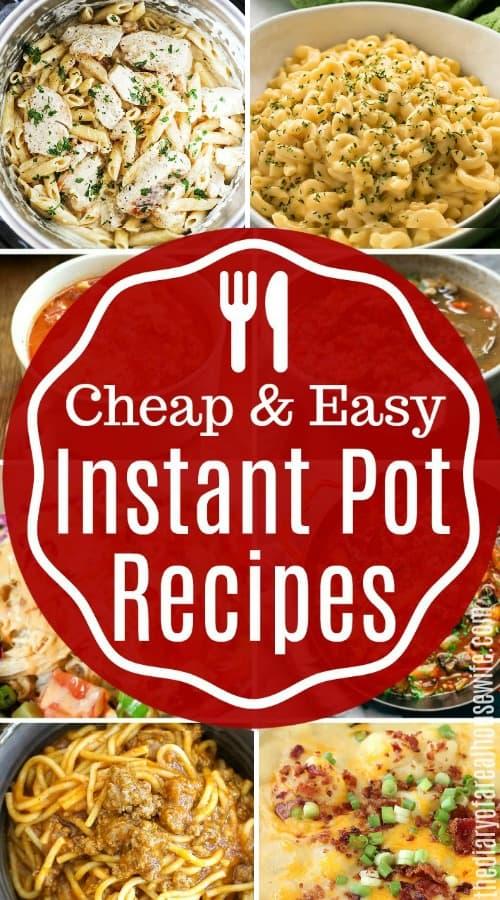 Easy Instant Pot Recipes