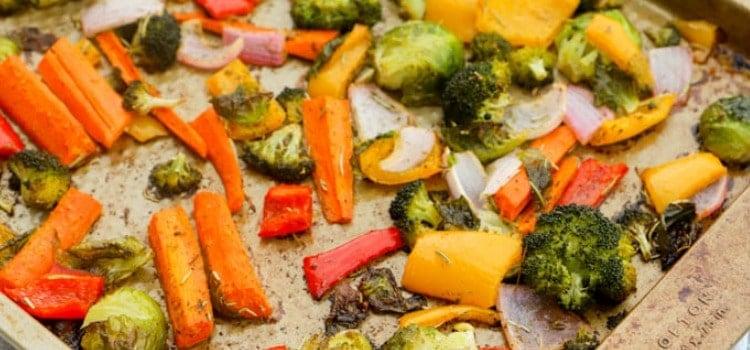 Roasted Vegetables side dish