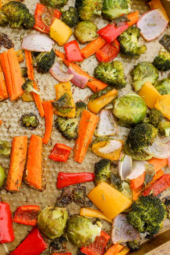healthy side dish recipe Roasted Vegetables