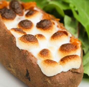 Twice Baked Sweet Potato