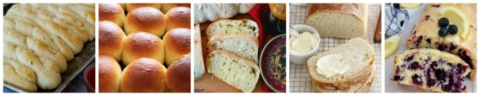 easy bread recipes that are homemade