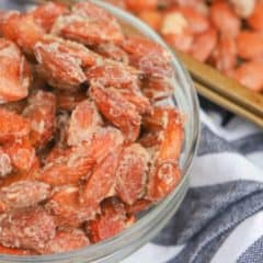 featured Cinnamon Roasted Almonds