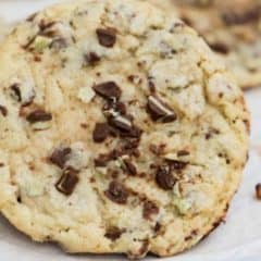 Mint Chocolate Chip Andes Cookie featured