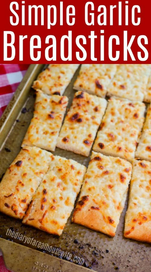 Garlic Flat Bread Sticks