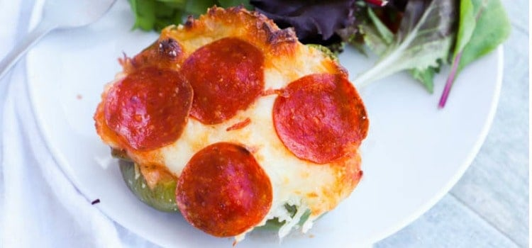 Pizza Stuffed Peppers