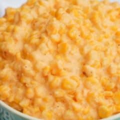 Slow Cooker Cheesy Creamed Corn