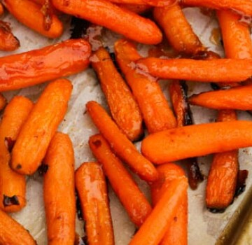 Roasted Maple Carrots