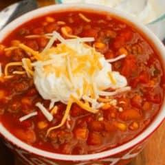 Super Simple Chili
