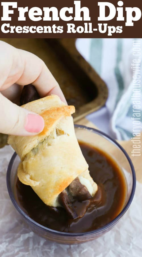 French Dip Crescents Recipe