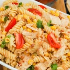 BBQ Chicken Pasta Salad featured picture