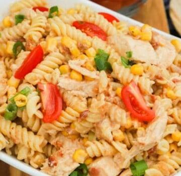 BBQ Chicken Pasta Salad featured picture