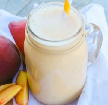 Peach Smoothie featured picture