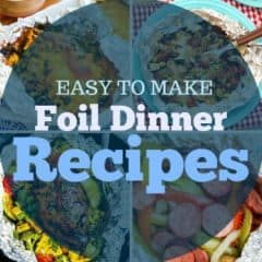 foil dinner recipes featured image