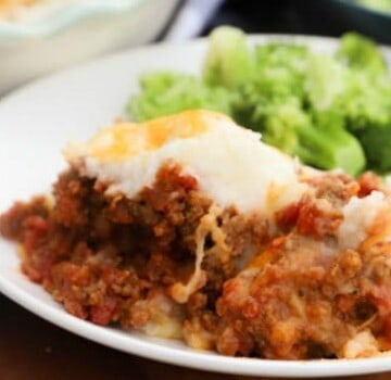 featured picture Bacon Cheeseburger Shepherd's Pie