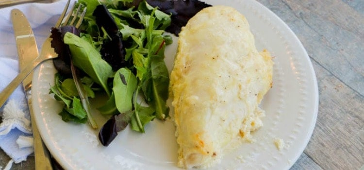 Baked Creamy Swiss Chicken featured image