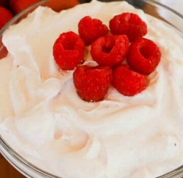 Raspberry Fruit Dip featured picture