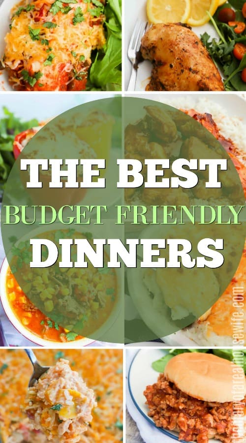 Budget Dinner Recipes