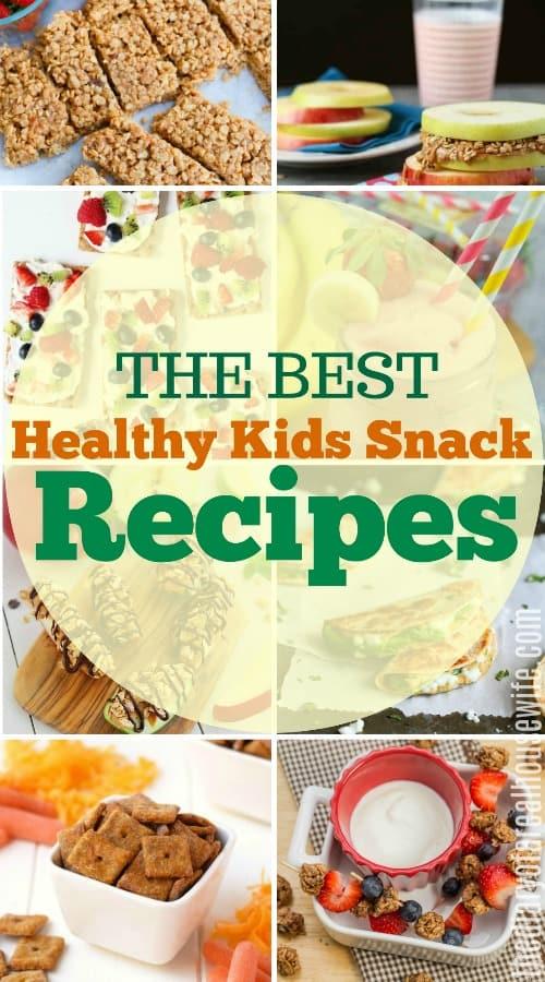 Healthy Kid's Snack Recipe Ideas