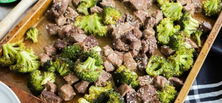 Sheet Pan Beef and Broccoli featured picture