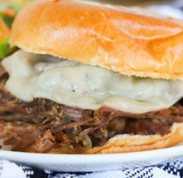 featured Slow Cooker Shredded Beef Sandwiches