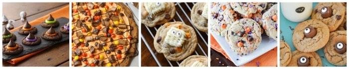 The Best Halloween Cookies collage 5