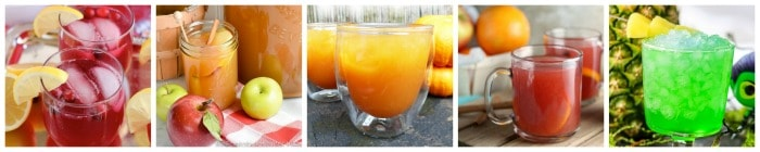 Fun Kid Friendly Halloween Drinks collage 3
