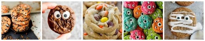 The Best Halloween Cookies collage 3