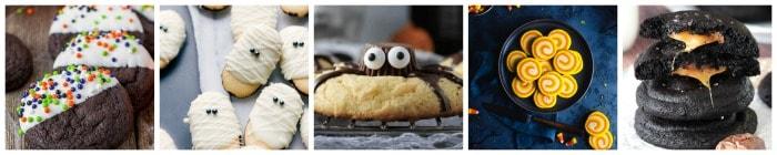 The Best Halloween Cookies collage 2