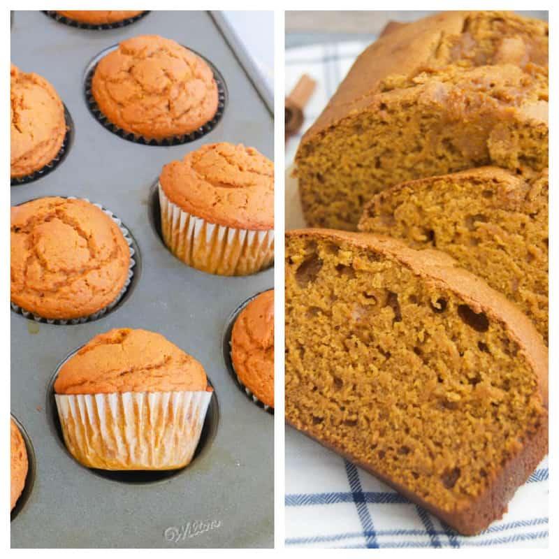 pumpkin bread recipes