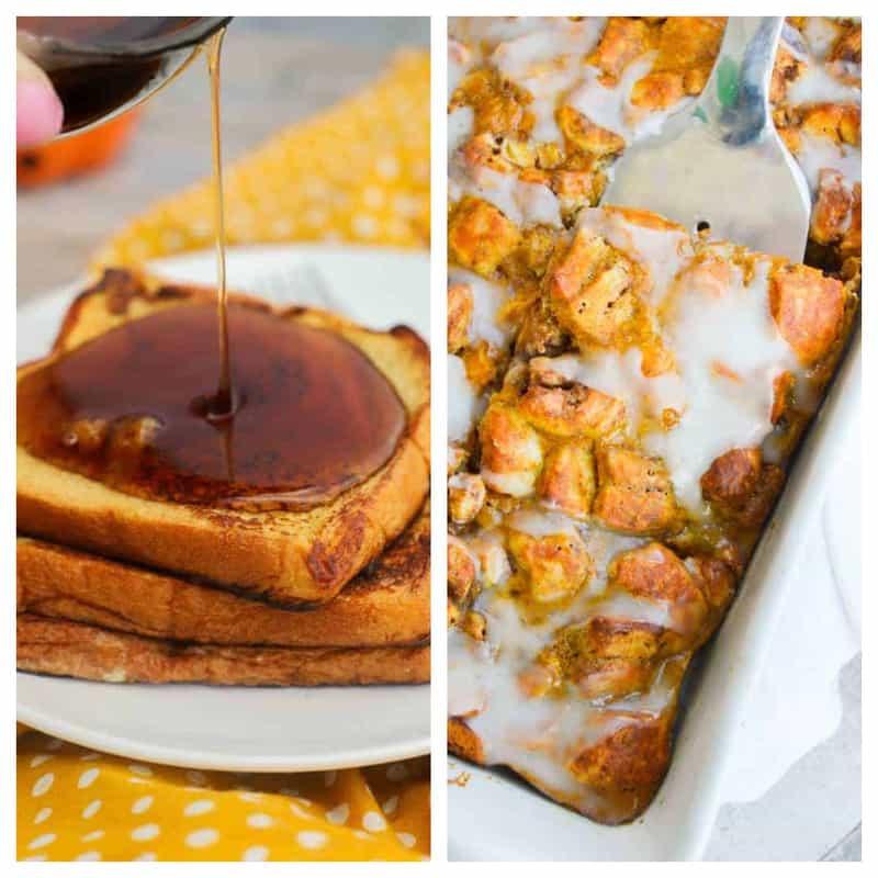 pumpkin breakfast recipes: