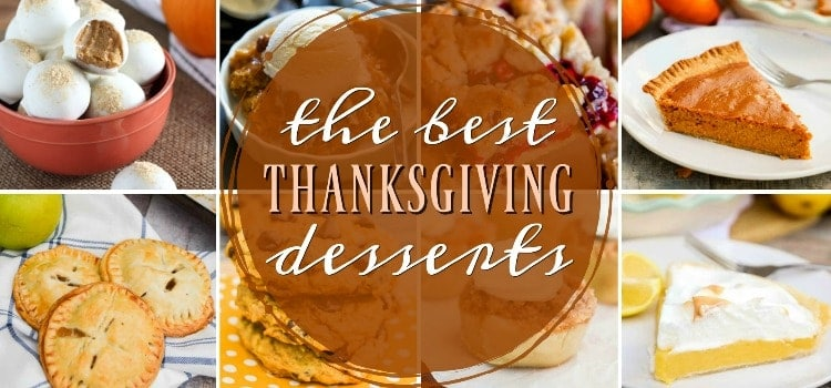 Thanksgiving Desserts title image