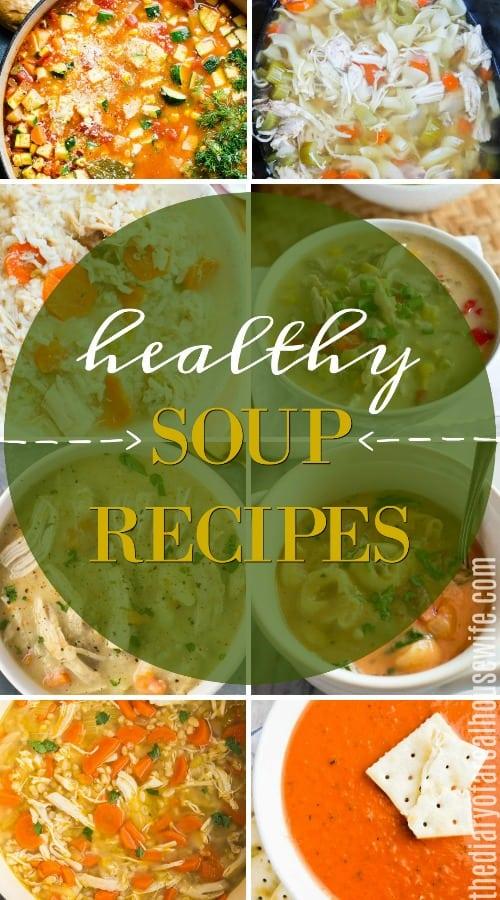 Heathy Soup Recipes title photo