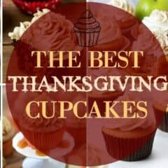 Thanksgiving Cupcakes featured image with title