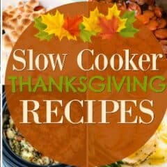 slow cooker thanksgiving header image with title
