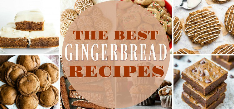 Gingerbread Recipe header image with text