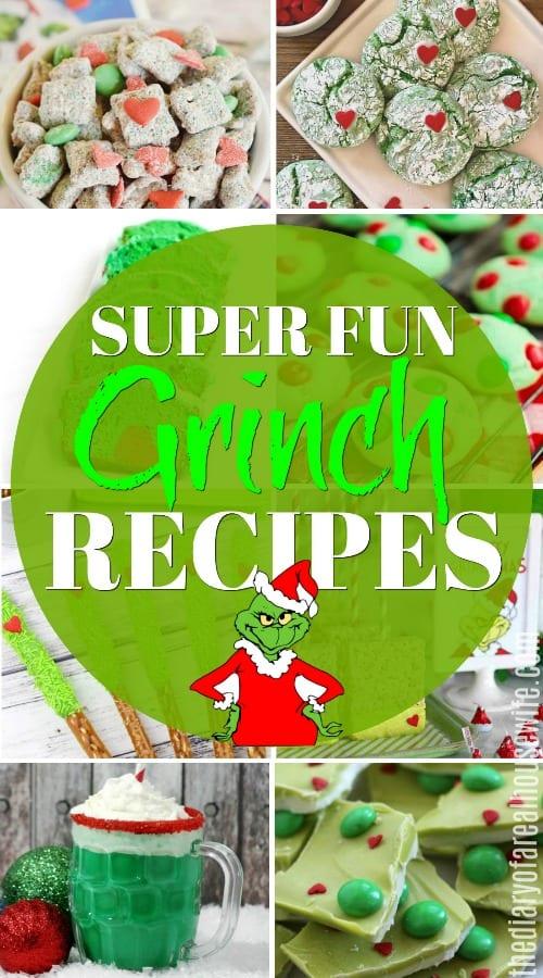 Christmas Grinch Recipes