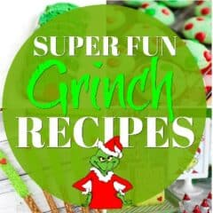 Christmas Grinch Recipes header image