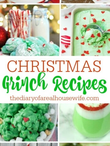 grinch recipes