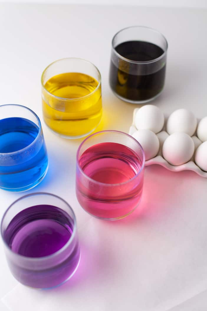 cups with colors