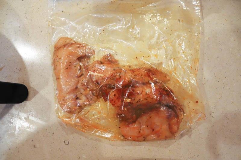 chicken in bag