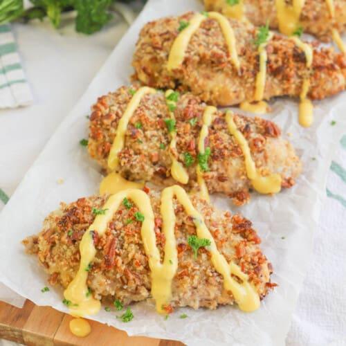 Honey Mustard Pecan Chicken